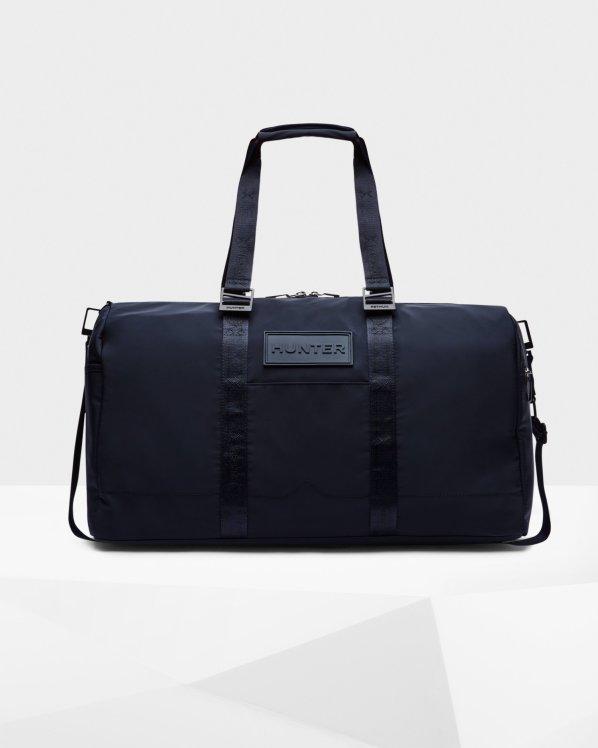Refined Sustainable Weekender Bag: Navy £175 Hunter