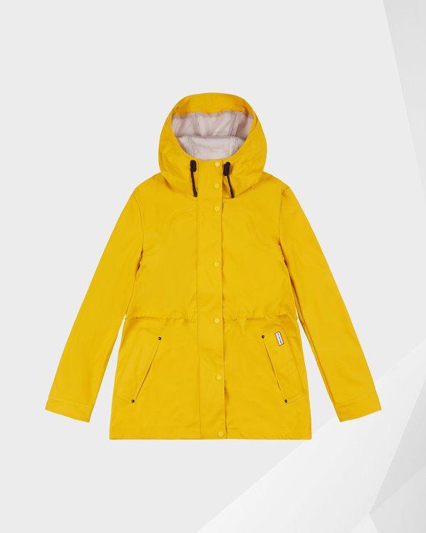 Women's Original Lightweight Waterproof Jacket: Yellow Hunter