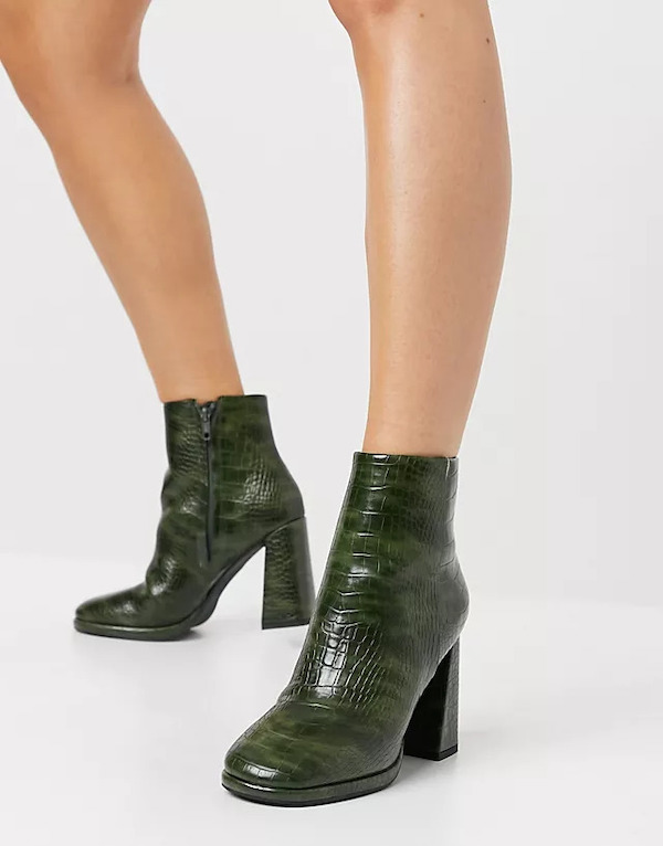 ASOS Eternity High-Heeled Ankle Boots