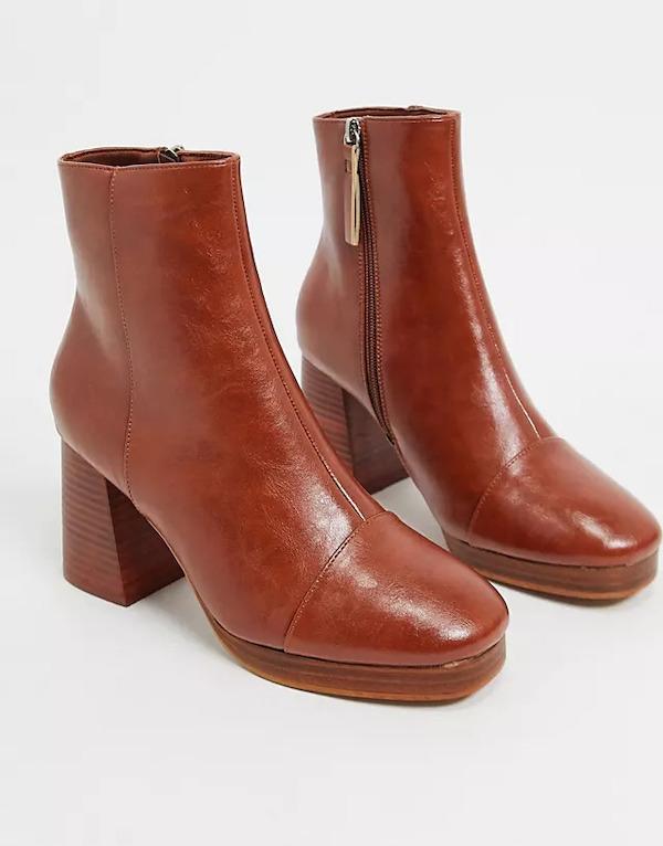 ASOS Wide Feet Rhona Platform Boots