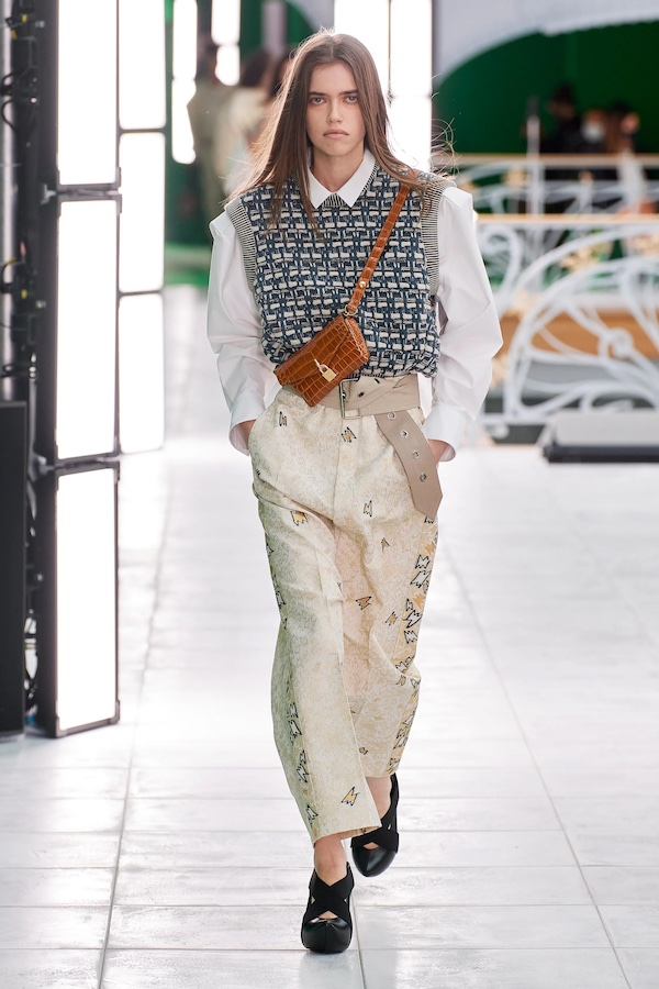 Louis Vuitton sweater vest aw21