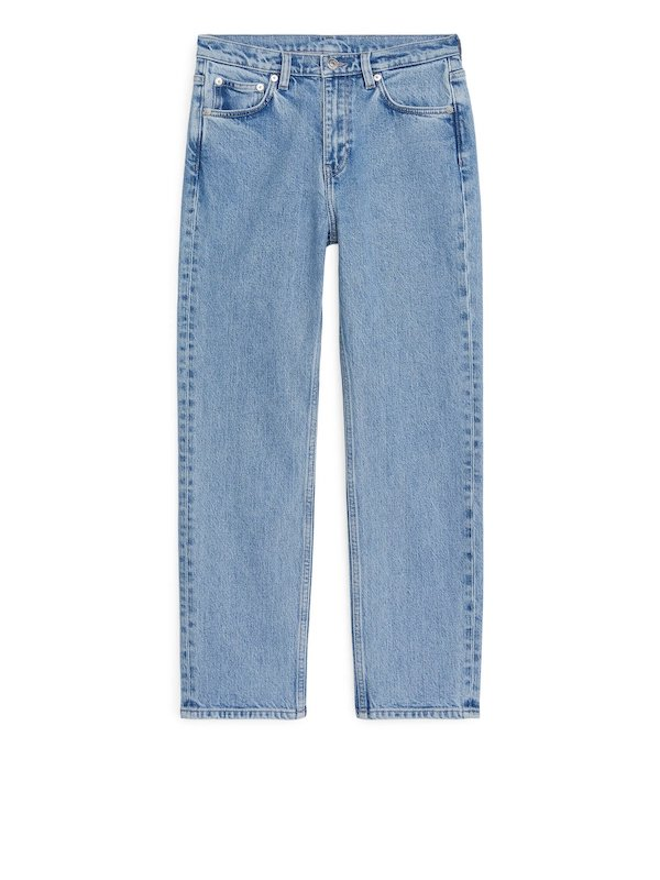 Regular Cropped Stretch Jeans