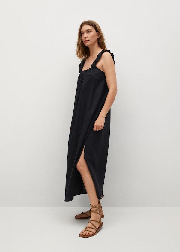 Cotton Midi Dress
