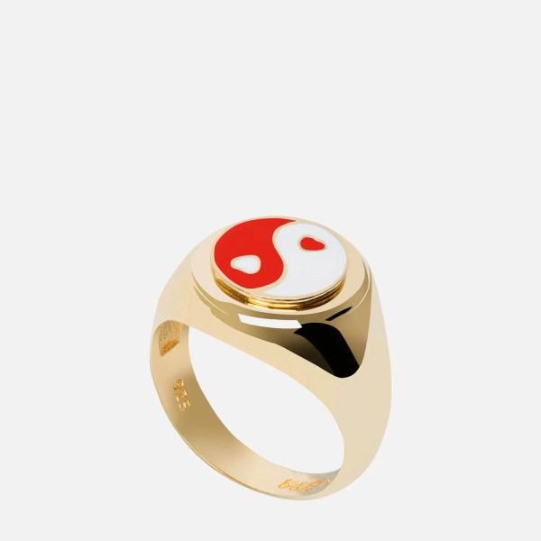 Wilhelmina Garcia Women's Yin/Yang Ring