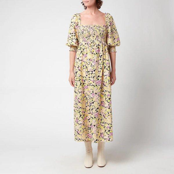 Saskia Midi Dress Rixo at Coggles