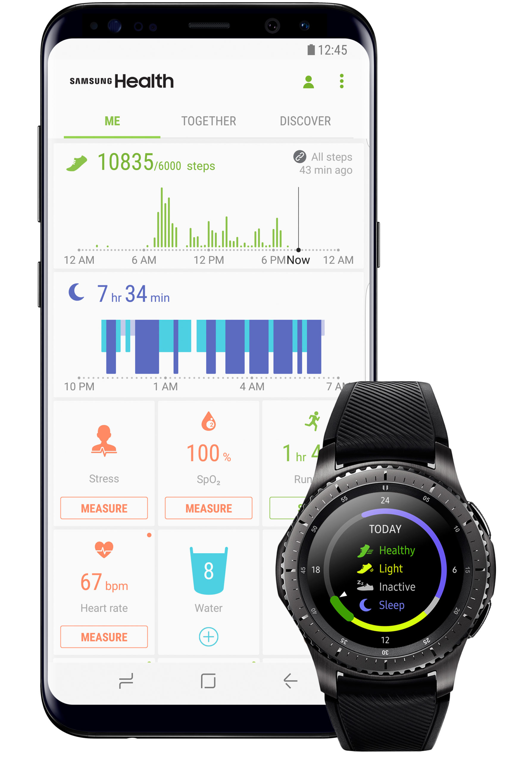 Samsung Tracker Health Fitness