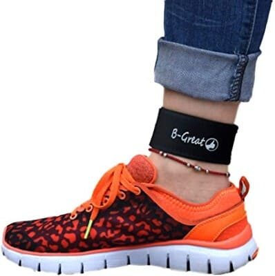 B-Grade ankle band fitness tracker