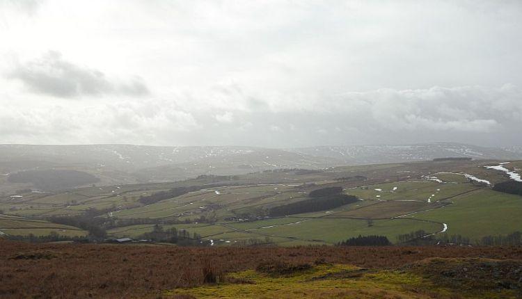 Weardale seen from Dodder Hill