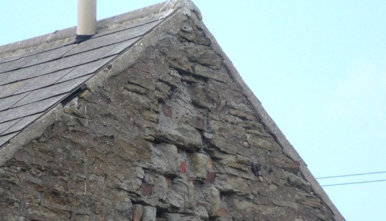 Dovecote in back-to-back cottage, Rookhope