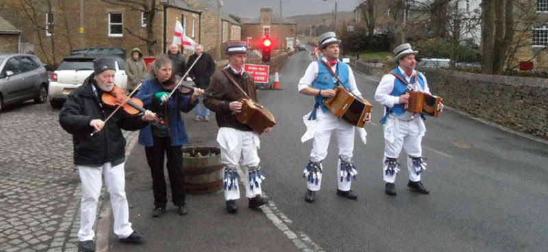 Morris Dancing In Rookhope