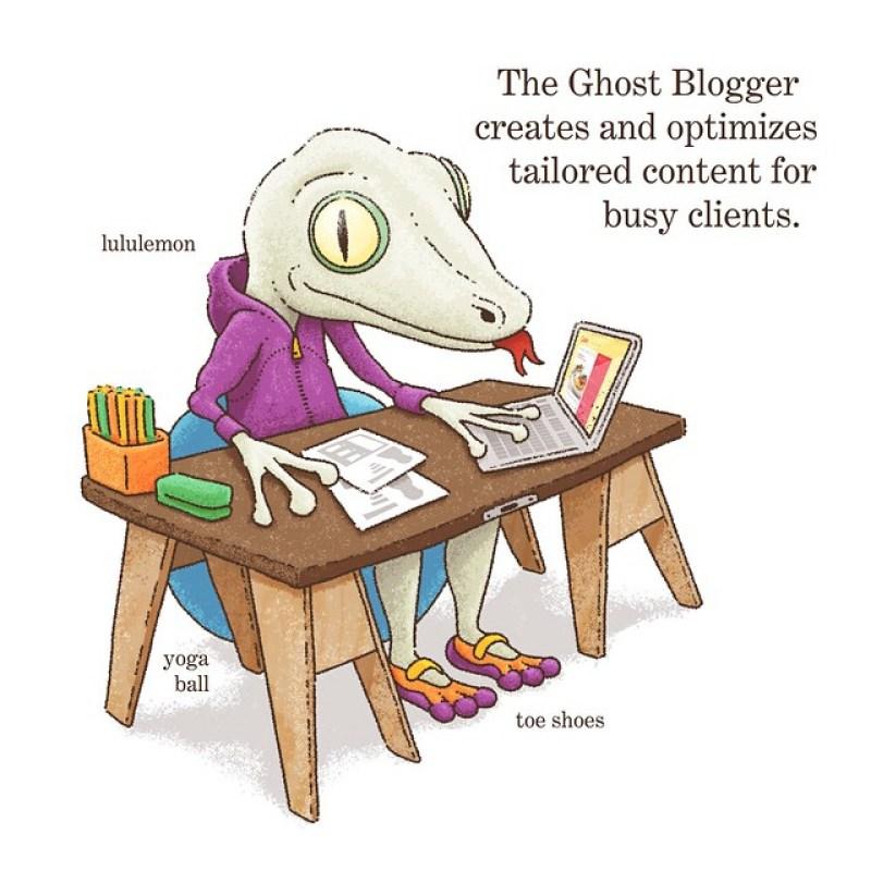 Ghost Blogger Jobs