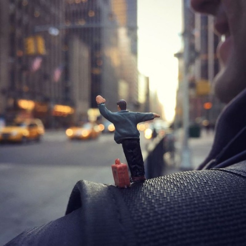Office Life in Miniature