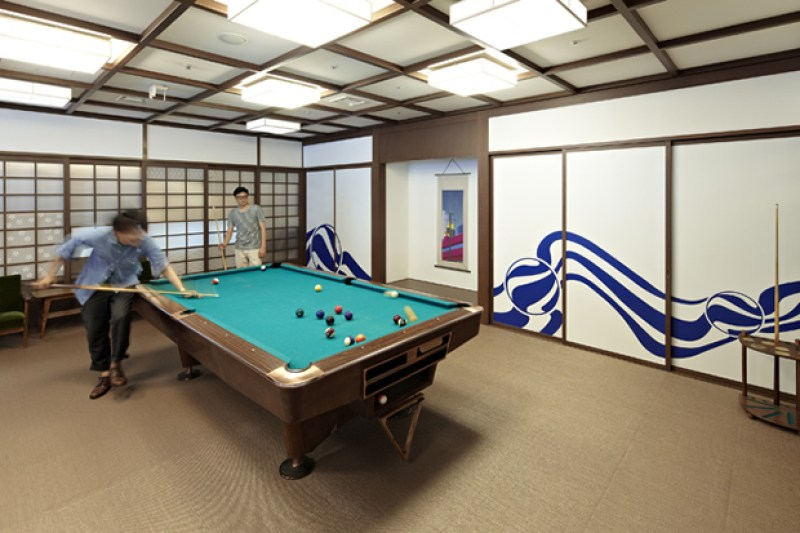 Google - Pool Table