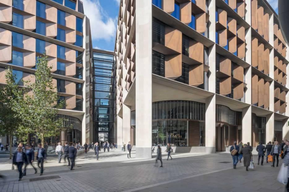 Bloomberg's London Entrance