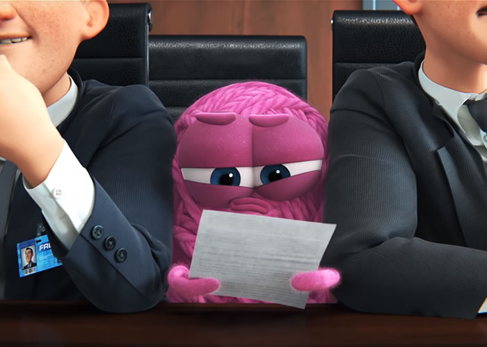 Pixar tackles Office Masculinity with Purl