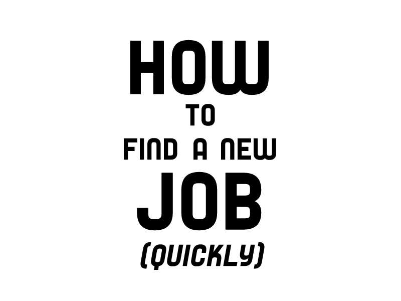 How TO Find A New Job