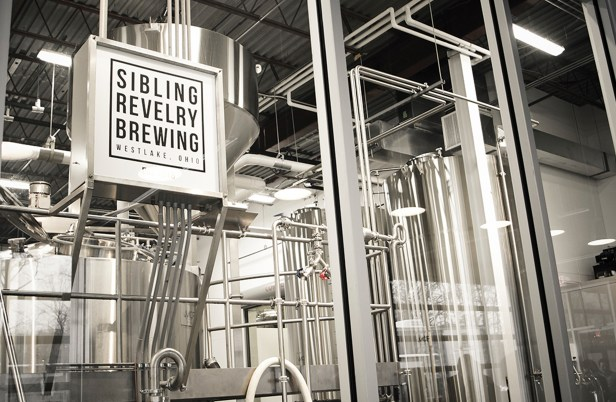 Fairly west of the massive variety of breweries in the Cleveland area, yet still close to the lake proudly stands Sibling Revelry Brewing, a business founded by siblings and cousins.