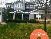 home, located at 1015 Grandin Ridge Drive, is the first home to sell through Cincinnati startup Homeshake.