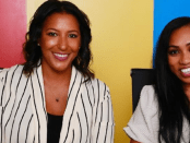 From left, Dawn Dickson, founder and CEO of Popcom, and Natasia Malaihollo, Wyzerr founder and CEO.