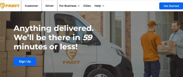 Cincinnati startup Frayt