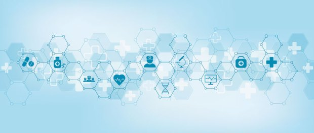 abstract medical health care science innovation concept