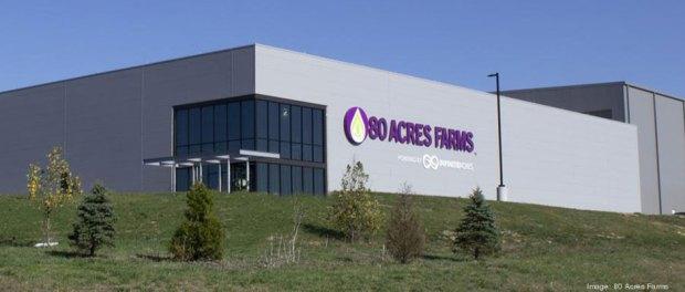 80 Acres Farms building