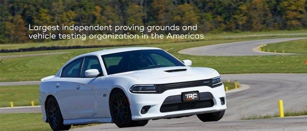 Transportation Research Center - car testing