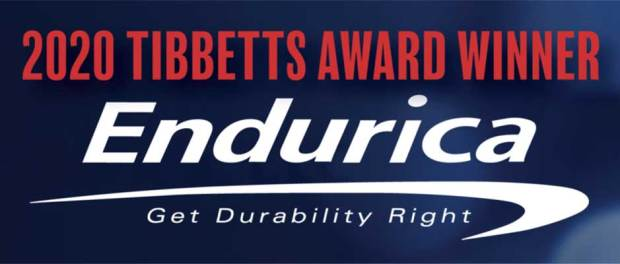 Endurica, of Findlay, is one of 38 companies nationwide to receive the U.S. Small Business Administration's (SBA) Tibbetts Award