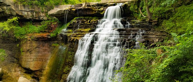 Brandywine falls in the Cuyahoga Valley National Park