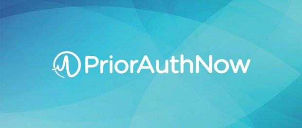 PriorAuthNow-Inc-Logo on a blue background