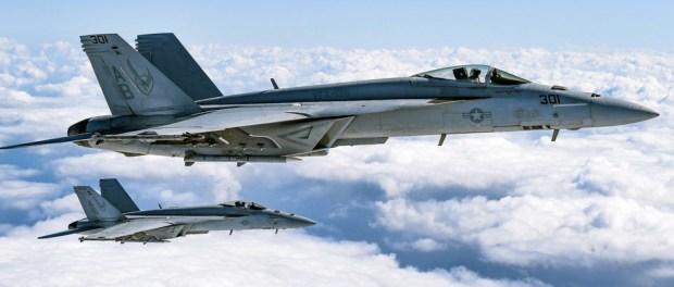 Navy F-18 Jet