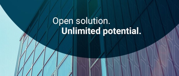 open solution. unlimited potential. building
