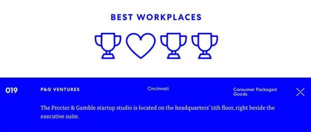 Best-Workplaces-Cincinnati-based-P&G-Ventures
