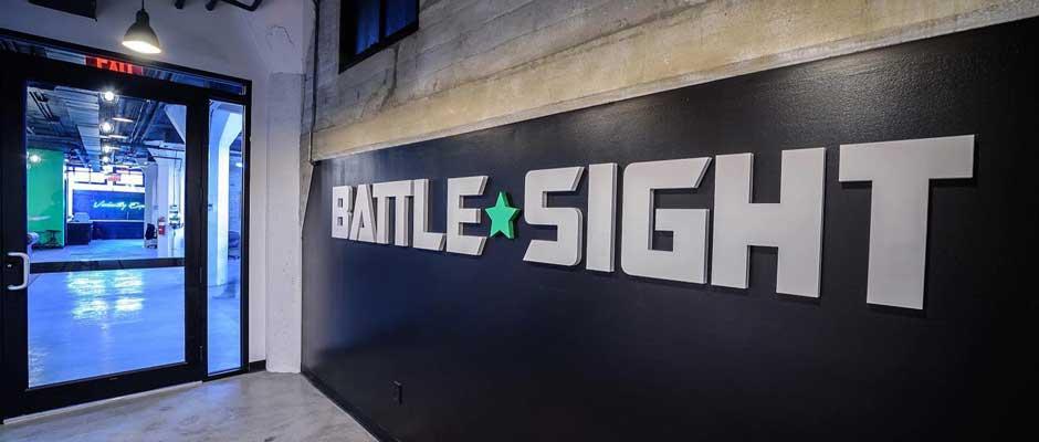battle-sight-logo-on-wall