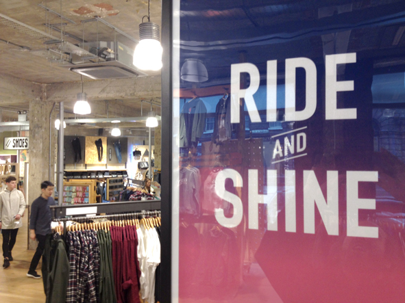 Bike Posters in Urban Outfitters