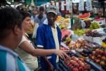 Sunday street market in Pinheiros.