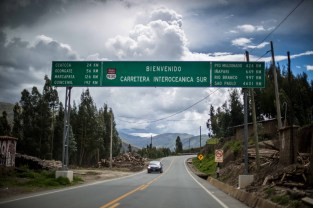 An hour outside of Cusco, the Interoceanic Highways begins its climb over the Andes.