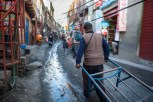 Sewage, cyanide and mercury run through the muddy pedestrian streets.