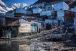 The majority of residents live in small tin shacks. Given the extreme temperatures, daytime weather rarely exceeds 40F all year around, with nighttime temperatures reguarly in the teens.