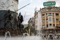 The center of Skopje is undergoing a massive transformation.