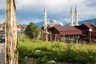 A mosque in the center of Shutka.