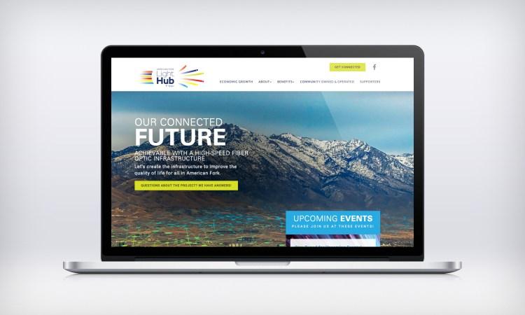 American Fork Light Hub Website