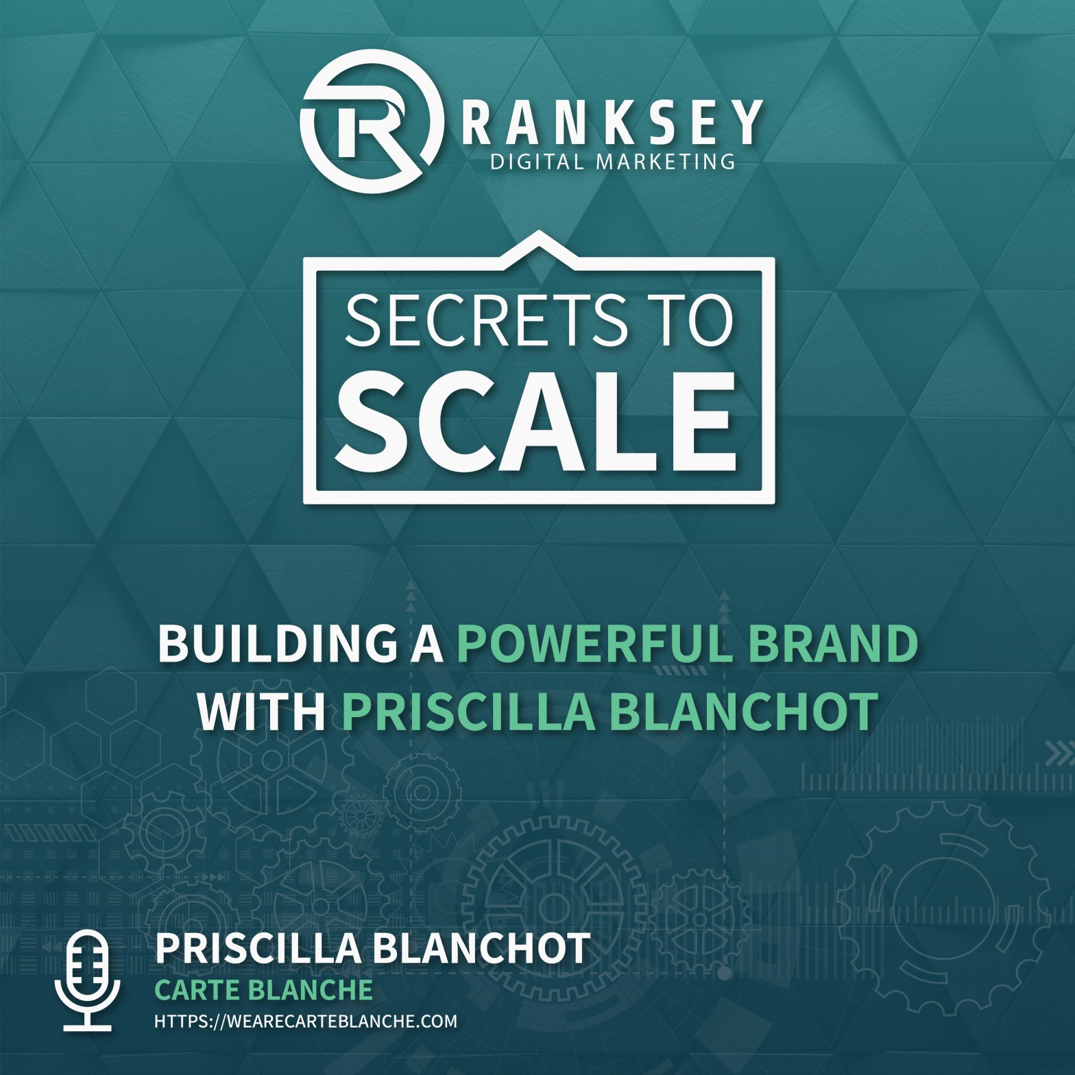 Secret to scale Podcast - building a powerful brand