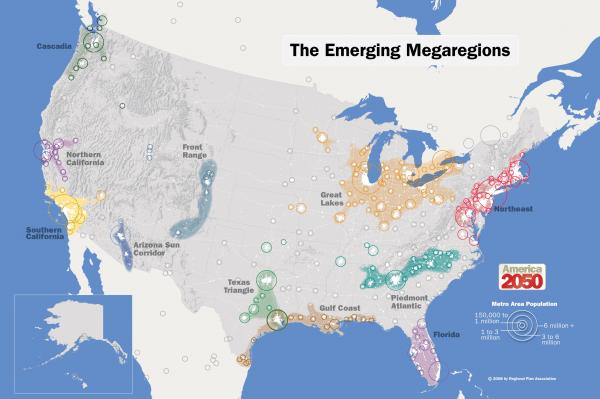 2050_Map_Megaregions2008_150