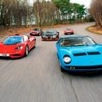 Mclaren F1 Bugatti Veyron Ss Ferrari 365 Gt4 Bb Lamborghini Miura Porsche 959 1 Curated