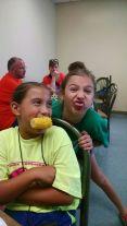 We always ate our veggies!