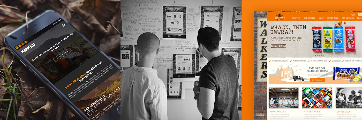 Eclectic creative - Shopify web design in Kendal Cumbria