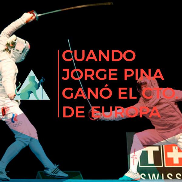 Cuando Jorge Pina se proclamó campeón de Europa