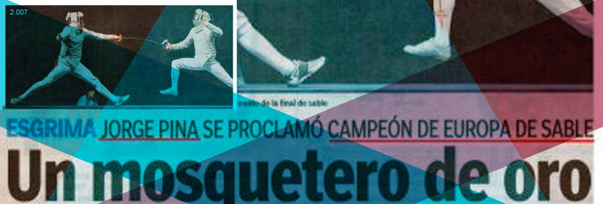 Esgrima: Jorge Pina Campeón de Europa