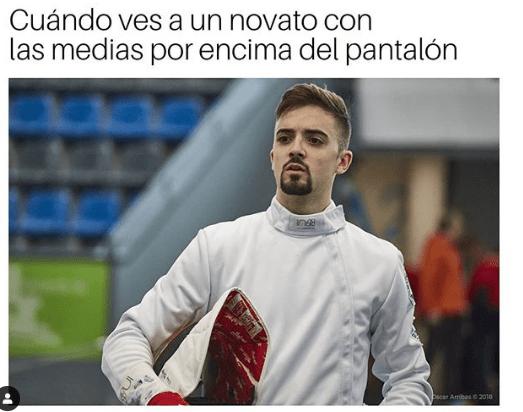 Álvaro Ibáñez para Fencing Memes